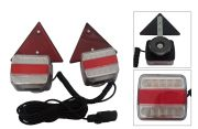 KIT MAGNETICO CON 2 PILOTOS +2 CATAREFLECTANTES | LED